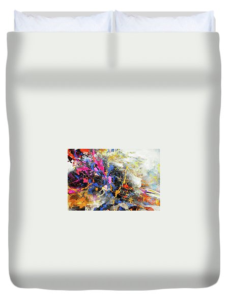 Faith Remains Duvet Cover