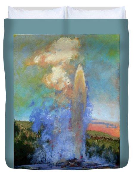 Faithful Duvet Cover by Carol Strickland