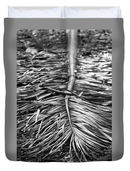 Fakahatchee Royal Frond Duvet Cover