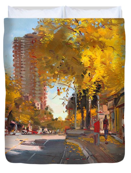 Fall 2010 Canada Duvet Cover