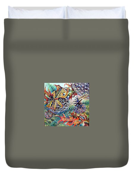 Fall Affair Duvet Cover