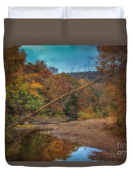 Fall At Barkers Gap Duvet Cover