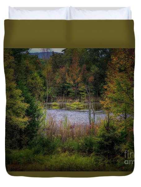 Fall At Fane Creek Duvet Cover