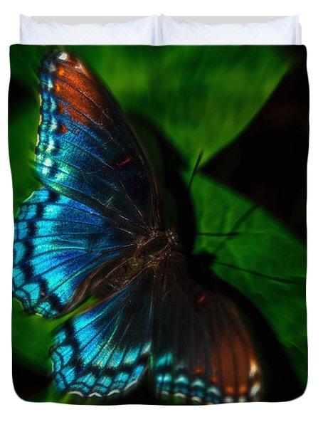 Fall Butterfly Duvet Cover