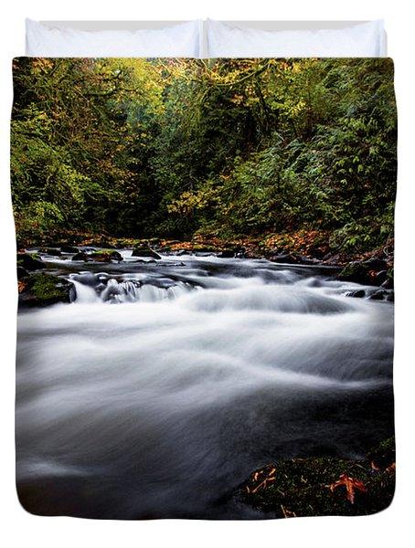 Fall Color At Cedar Creek Duvet Cover
