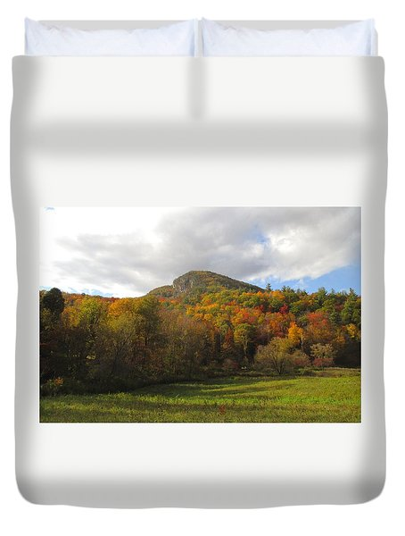 Fall Color In Vermont Duvet Cover