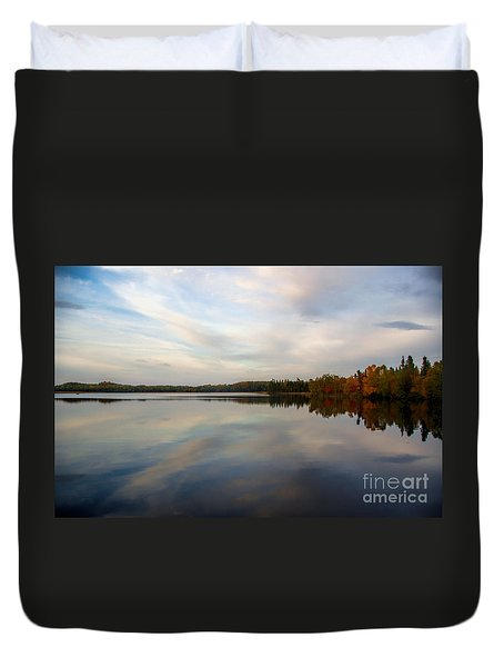 Duvet Cover featuring the photograph Fall Colours by Lynn Bolt