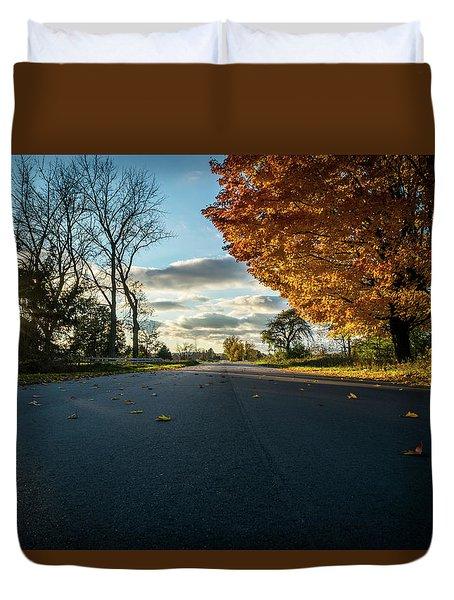 Fall Day Duvet Cover