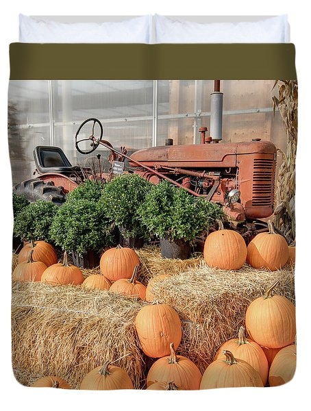 Fall Display Duvet Cover