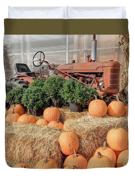 Fall Display Duvet Cover