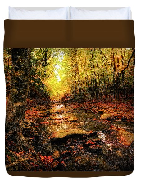 Fall Dreams Duvet Cover