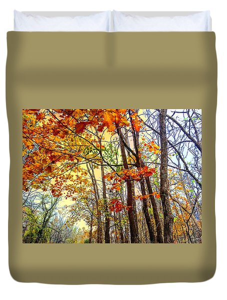 Fall Fantasy Duvet Cover