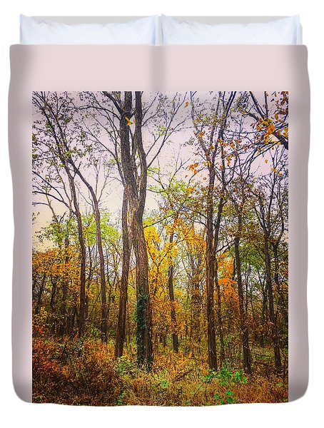 Fall Farewell Duvet Cover