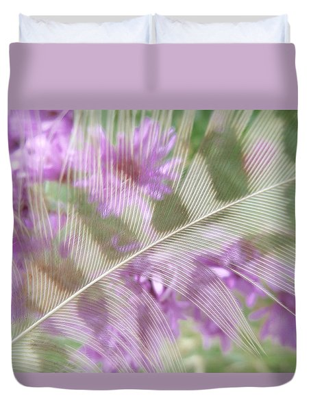 Fall Feather Duvet Cover