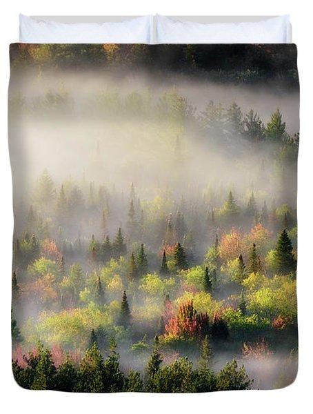 Fall Fog Duvet Cover