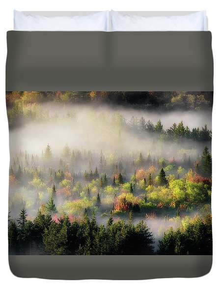 Fall Fog Duvet Cover