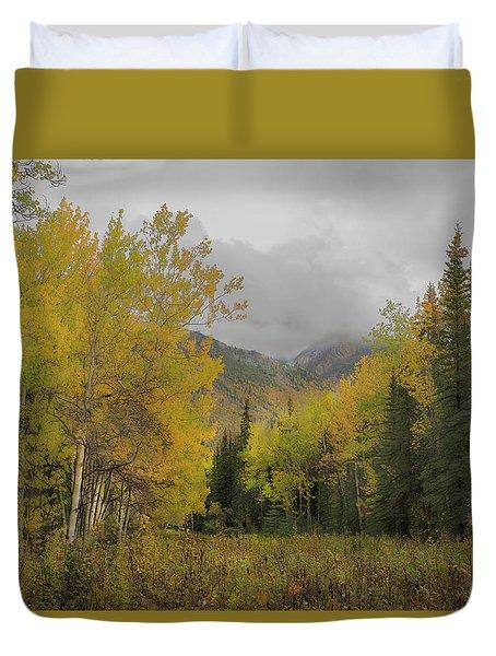 Fall Glow Duvet Cover