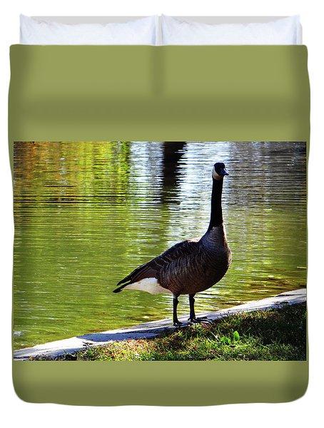 Fall Goose Duvet Cover