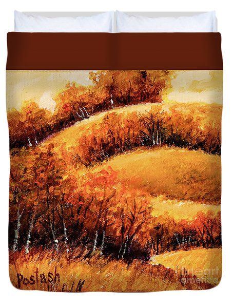 Fall Duvet Cover by Igor Postash
