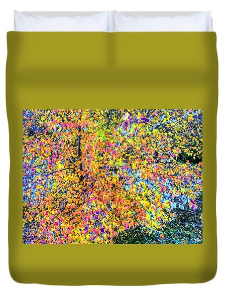Fall Impressionism Duvet Cover