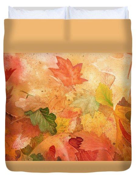 Fall Impressions Iv Duvet Cover
