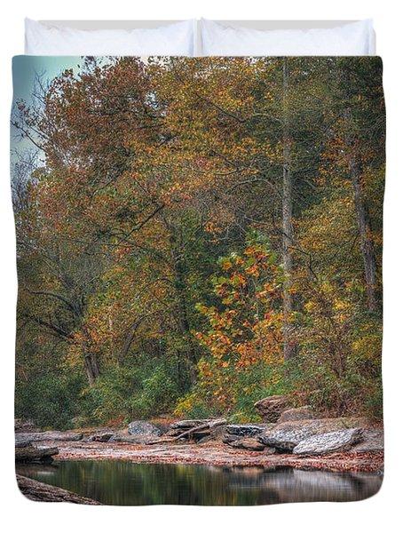 Fall In Arkansas Duvet Cover