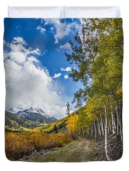 Fall In Colorado Duvet Cover