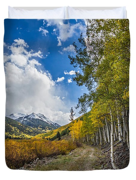 Fall In Colorado Duvet Cover