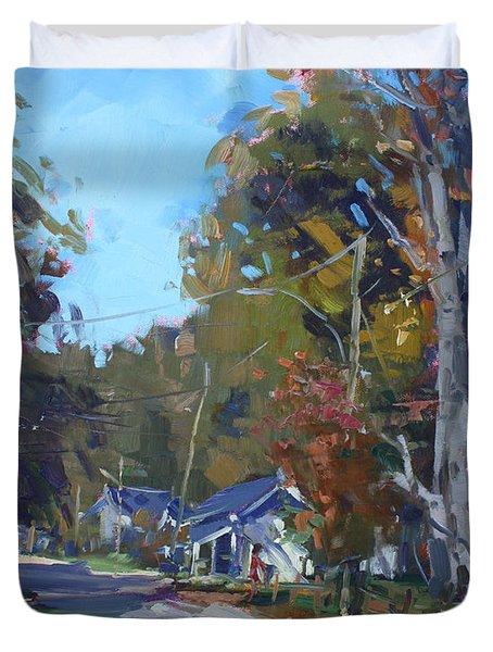 Fall In Glen Williams On Duvet Cover