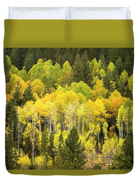 Fall In The Sierras Duvet Cover