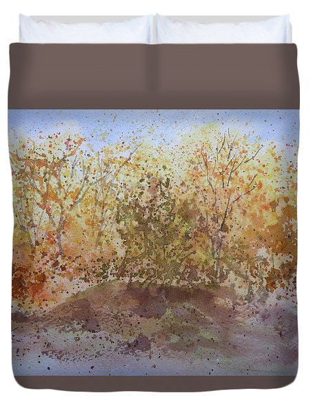 Fall In The Tejas High Country Duvet Cover