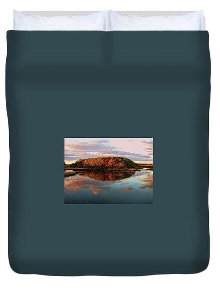 Fall In Wellfleet Duvet Cover