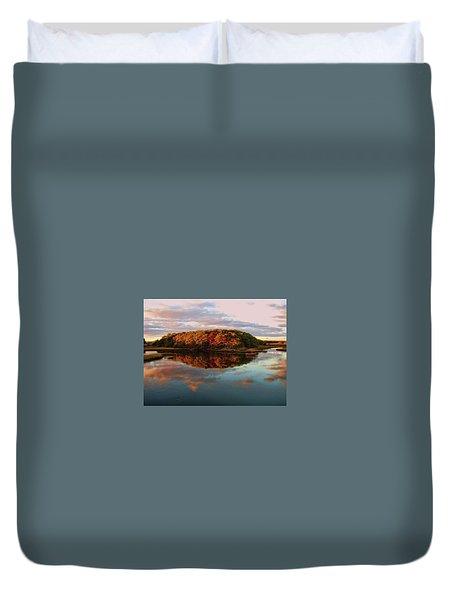 Fall In Wellfleet Duvet Cover