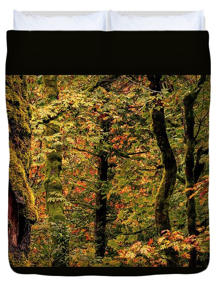 Fall Is Coming Duvet Cover
