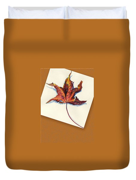 Fall Leaf Duvet Cover