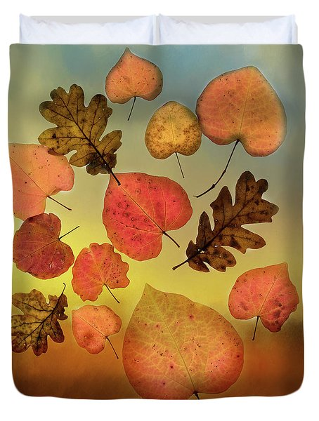 Fall Leaves #1 Duvet Cover