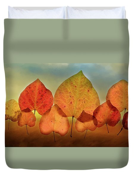 Fall Leaves #3 Duvet Cover