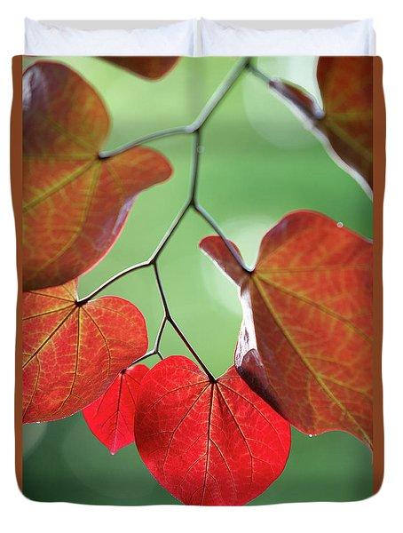 Redbud Duvet Cover