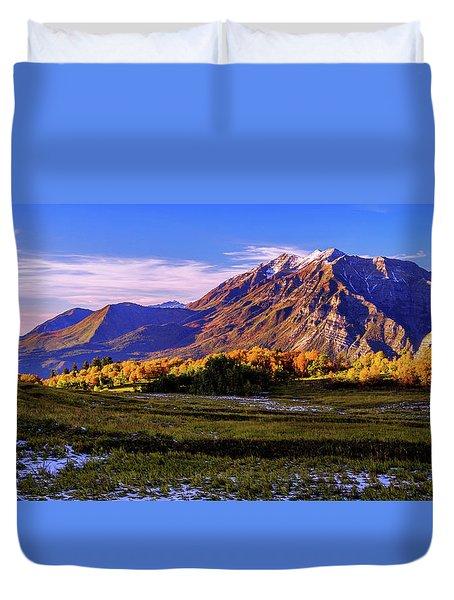 Fall Meadow Duvet Cover