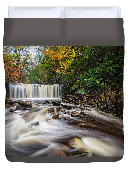 Fall Mixer Duvet Cover