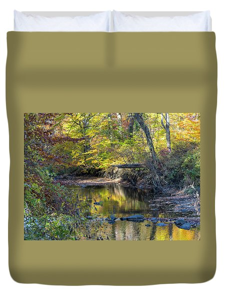 Fall Morning Duvet Cover