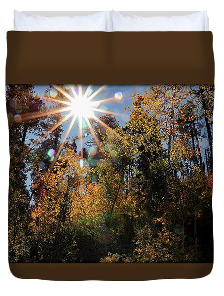 Fall Mt. Lemmon 2017 Duvet Cover