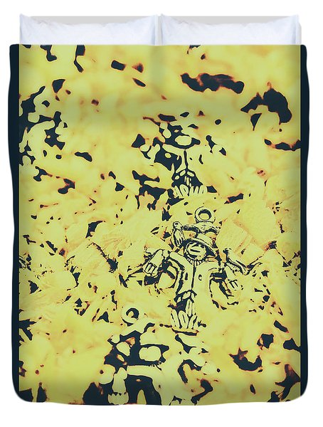 Fall Of The Harvest Duvet Cover