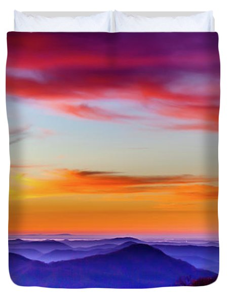 Fall On Your Knees Duvet Cover