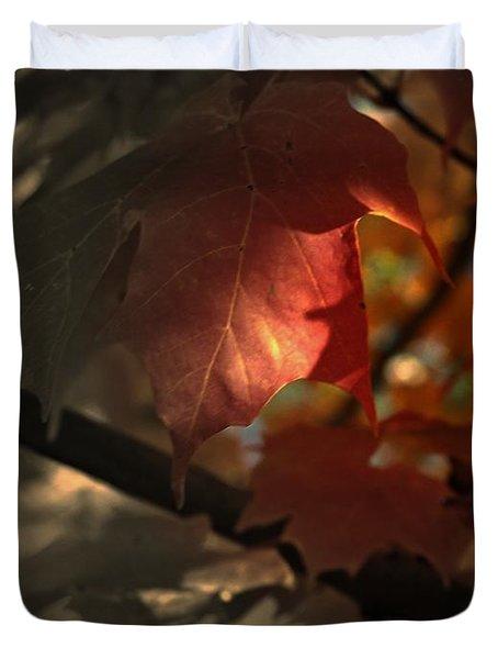 Fall Or Not Duvet Cover