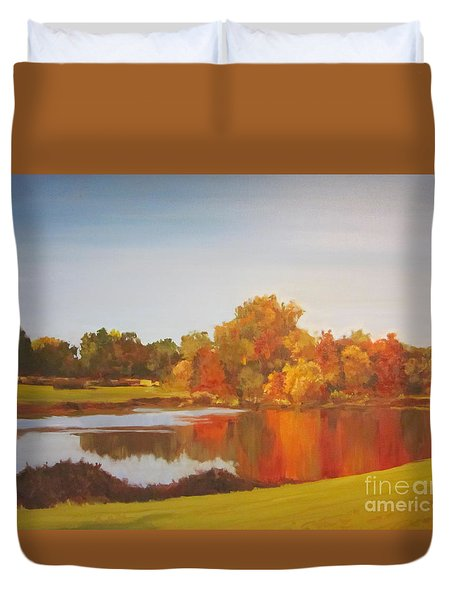 Fall Perfection Duvet Cover