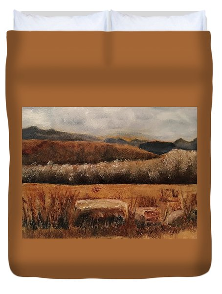 Fall Plains Duvet Cover