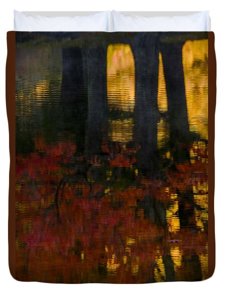 Fall Reflections 2 Duvet Cover