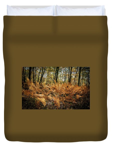 Fall Rust Duvet Cover