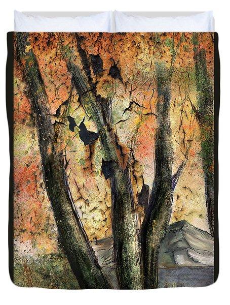 Fall Splendor  Duvet Cover by Annette Berglund